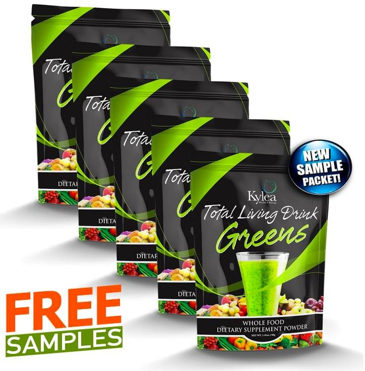 Kylea Total Living Greens Sample Packs